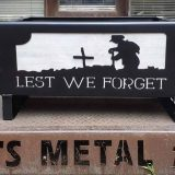 Lest We Forget Fire Pit