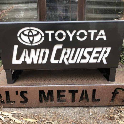 Toyota Land Cruiser Fire Pit