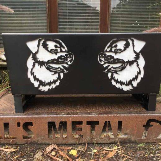 Rottweiler Dog Fire Pit