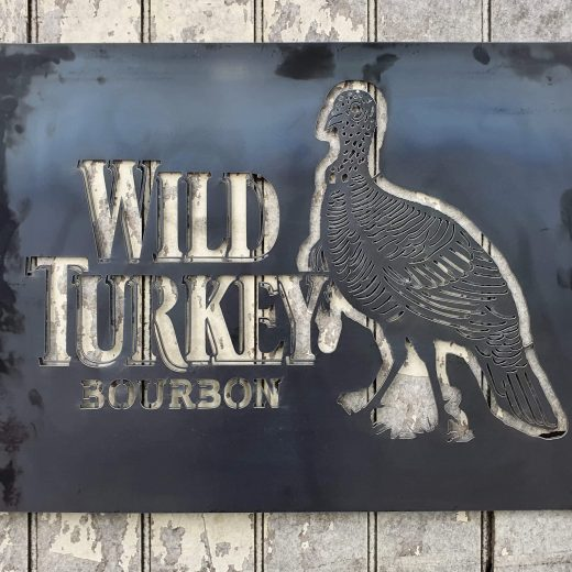 Wild Turkey Sign Large