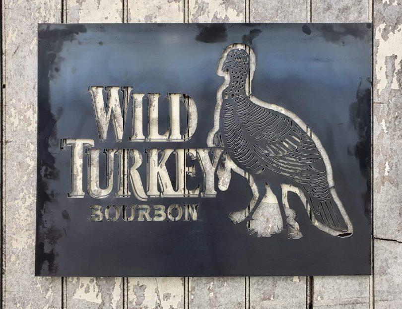 Wild Turkey Sign Large