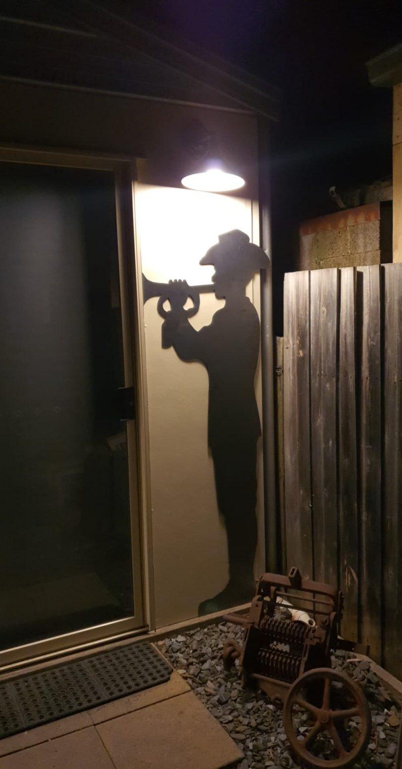 Australian Army Soldier Bugle