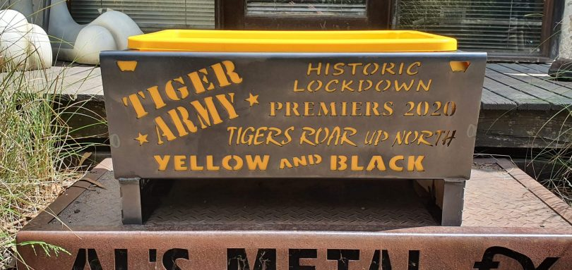 Tiger Army Premiers 2020 Fire Pit
