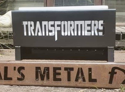 Transformers Fire Pit