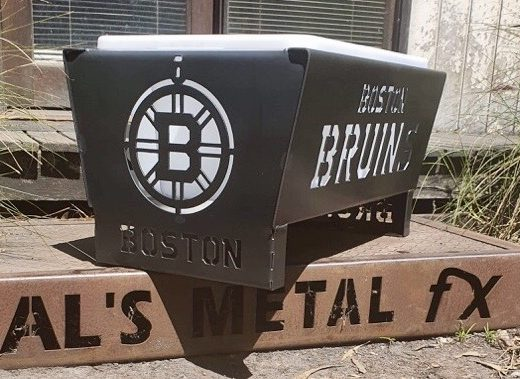 Boston Bruins Fire Pit