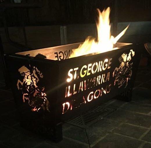 St George Illawarra Dragons Fire Pit