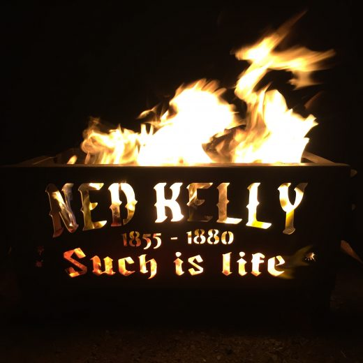 Ned Kelly Fire Pit